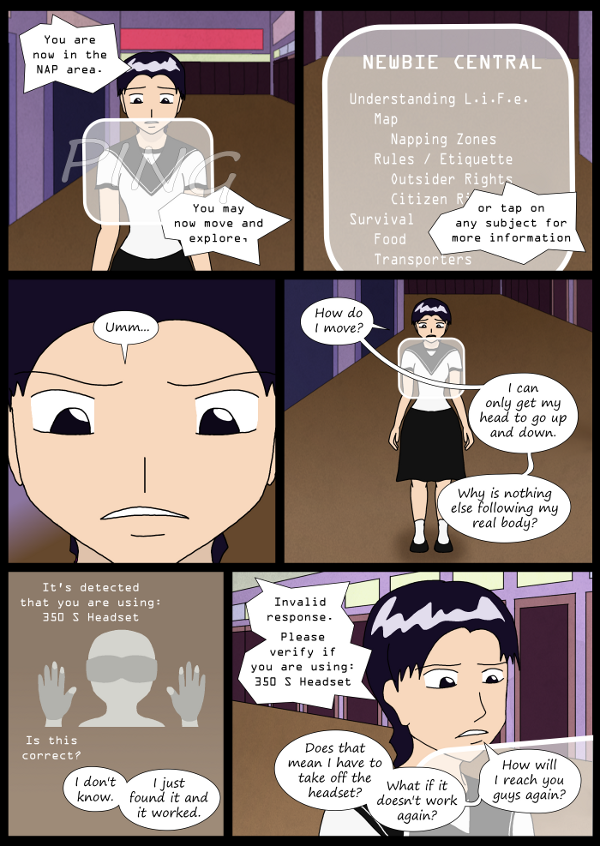 'Not A Villain' Webcomic - Annie's sidestory continues